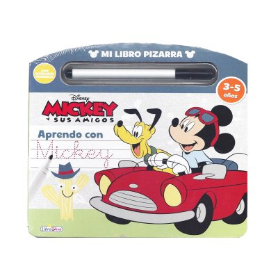 Libro Pizarra Mickey y sus amigos
