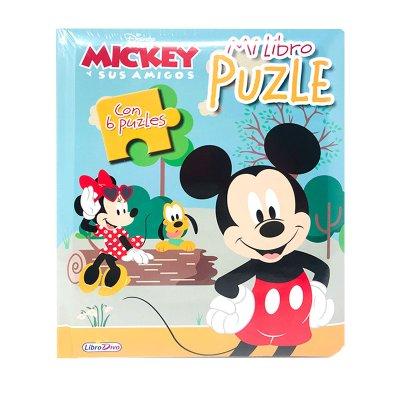 Mi Libro Puzle Mickey y Minnie 19x16cm