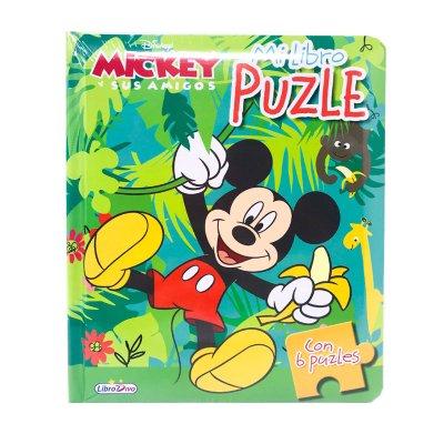 Mi Libro Puzle Selva Mickey y sus amigos 19x16cm