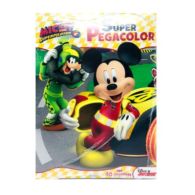 Wholesaler of Libros Super Pegacolor Mickey y Los Superpilotos 21x28cm 40pgs
