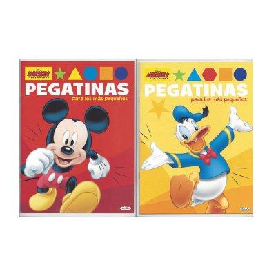 Libros c/pegatinas Mickey y sus amigos