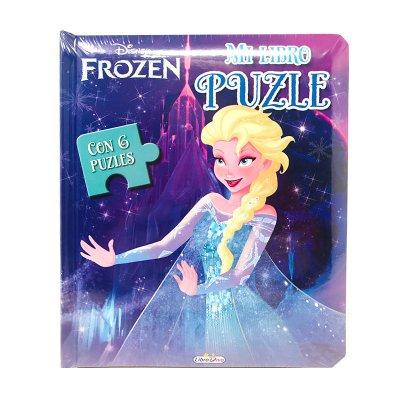 Mi Libro Puzle Elsa Frozen Disney 19x16cm