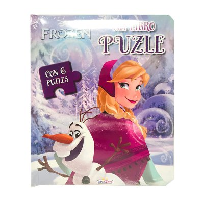Mi Libro Puzle Ana Frozen Disney 19x16cm