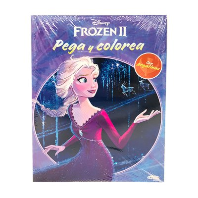 Wholesaler of Libro Pega y Colorea Frozen 2 21x28cm