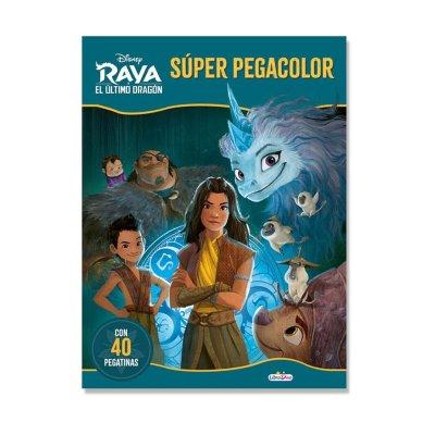 Libros Super Pegacolor Raya y El Ultimo Dragón