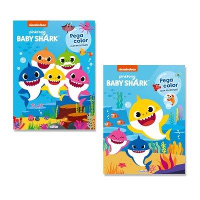 Libros Pegacolor Baby Shark