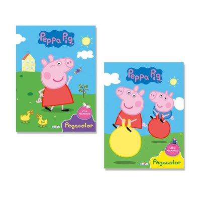 Libros Super Pegacolor Peppa Pig