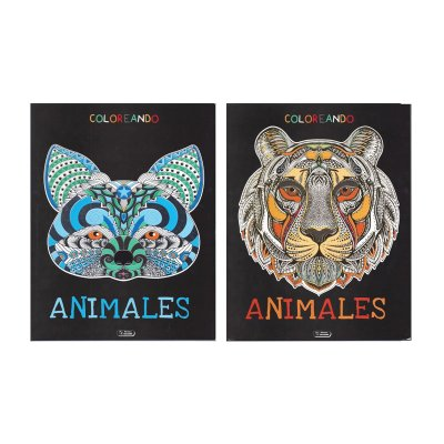 Wholesaler of Libros Coloreando Animales 21x28cm