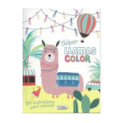 Wholesaler of Libro Super Color Llamas 21x28cm