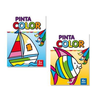 Libro Pinta Color 3-4años