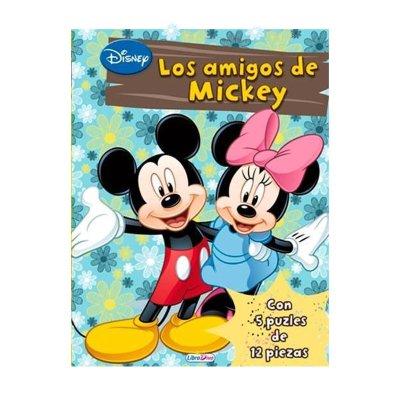 Libro Los amigos de Mickey 21x29cm