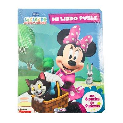Mi Libro Puzle Minnie 16x20cm 12 páginas - modelo 2
