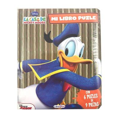 Mi Libro Puzzle Donald 16x20cm 12 páginas