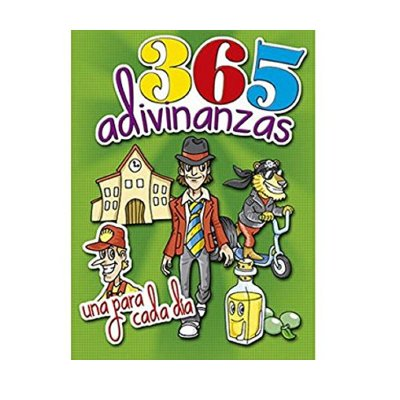 Libro 365 adivinanzas