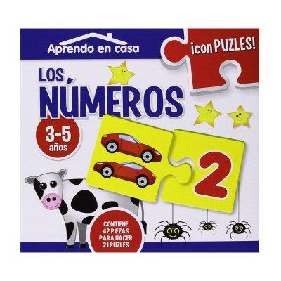 Aprendo en casa los números c/puzzles
