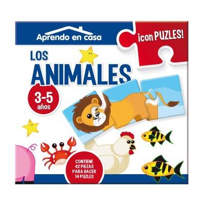 Aprendo en casa Los Animales c/puzzles