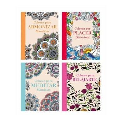 Wholesaler of Mandalas Colores para Armonizar Meditar Placer Relajar 64pgs