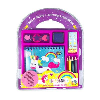 Cuento y actividades para pintar Unicornio