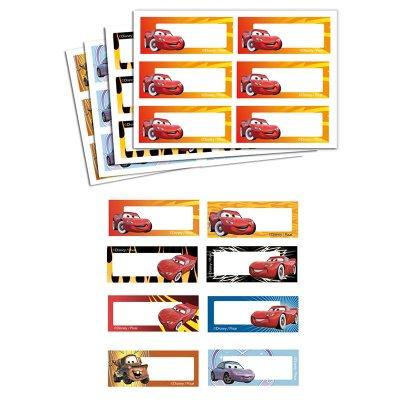 Etiqueta impresa nombre Cars - Ref. 9979C