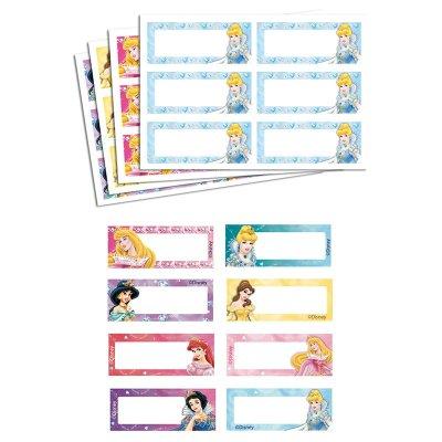 Etiqueta impresa nombre Princesas Disney - Ref. 9998C