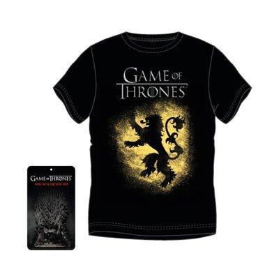 Camiseta adulto Juego de Tronos Casa Lannister