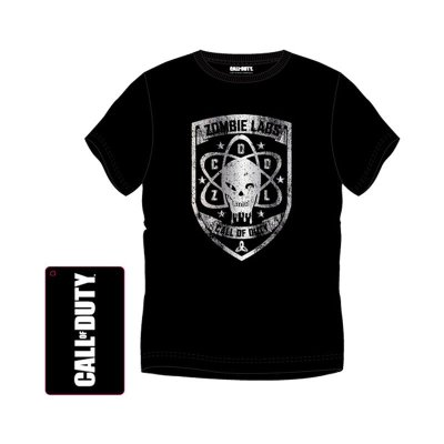 Camiseta adulto Call of Duty Zombie Labs