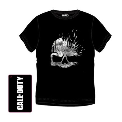 Camiseta adulto Call of Duty Skull