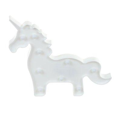 Wholesaler of Luz decorativa LED Unicornio blanco