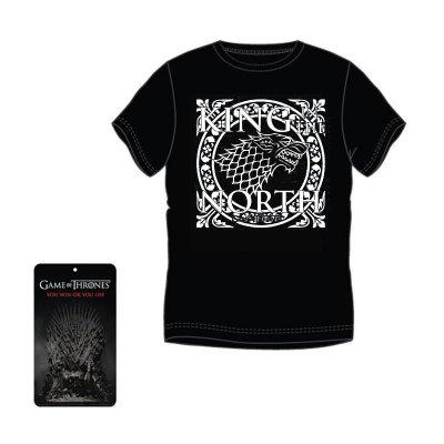 Wholesaler of Camiseta adulto Juego de Tronos King North - negro