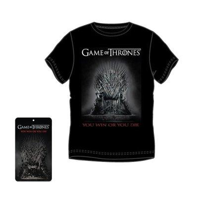 Camiseta adulto Juego de Tronos You Win or You Die - modelo 2