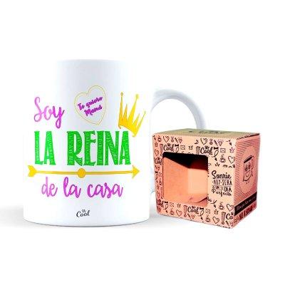 Wholesaler of Taza cerámica frases - Soy la reina