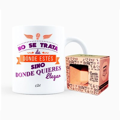 Wholesaler of Taza cerámica frases - No se trata de dónde estès