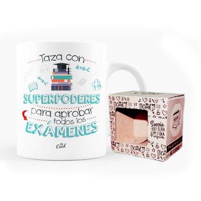 Wholesaler of Taza cerámica frases - Taza con superpoderes