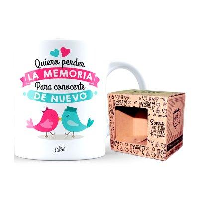 Wholesaler of Taza cerámica frases - Quiero perder la memoria