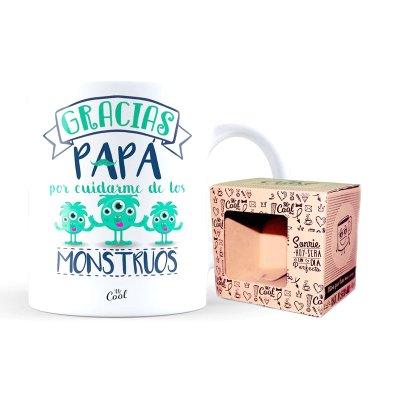 Taza cerámica frases - Papa gracias por cuidarme