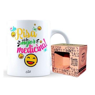 Wholesaler of Taza cerámica frases - La risa es la mejor medicina