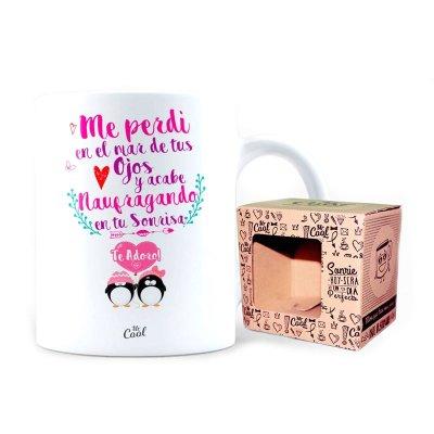 Wholesaler of Taza cerámica frases - Me perdí en el mar de tus ojos