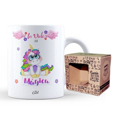Wholesaler of Taza cerámica frases - La vida es mágica