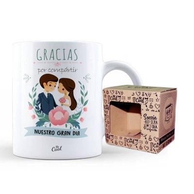 Wholesaler of Taza cerámica frases - Gracias por compartir nuestro gran día