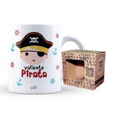 Wholesaler of Taza cerámica frases - Valiente Pirata niño