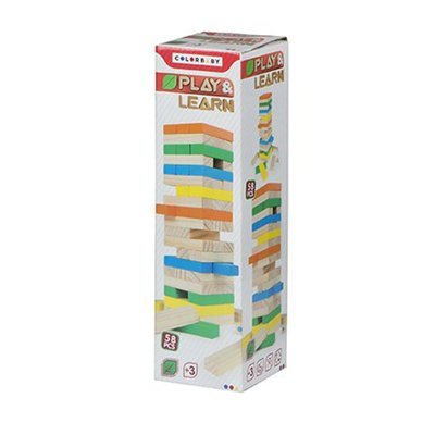 Torre blocs madera 58plz Play & Learn