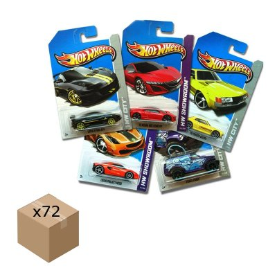 Wholesaler of Caja de 72 coches Hot Wheels 1:64 modelos surtidos