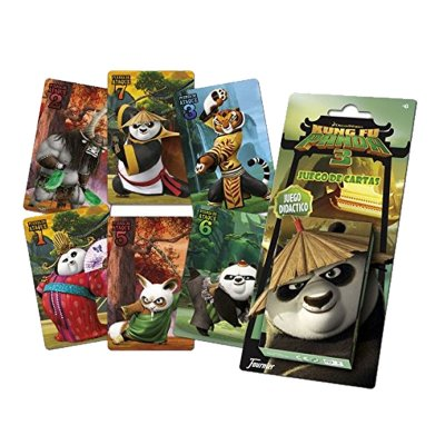 Wholesaler of Kung Fu Panda 3 deck of playing cards