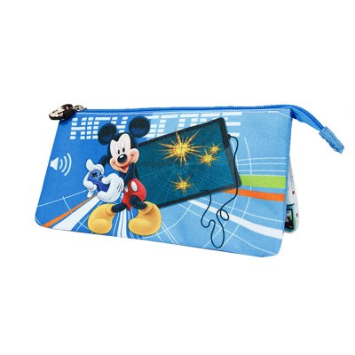 Distribuidor mayorista de Estuche triple Mickey Mouse 23.5x13cm