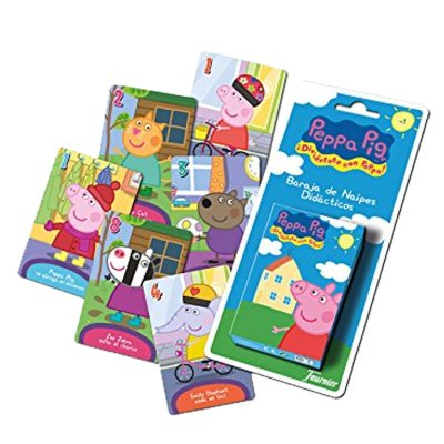 Wholesaler of Peppa Pig deck of playing cards