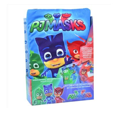 Set creativo de historias PJ Masks
