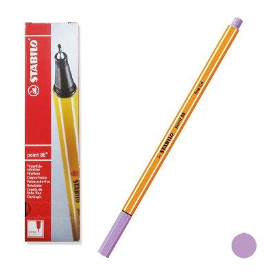 Distribuidor mayorista de Rotulador punta fina Stabilo Point 88/59 lila claro 0.4mm